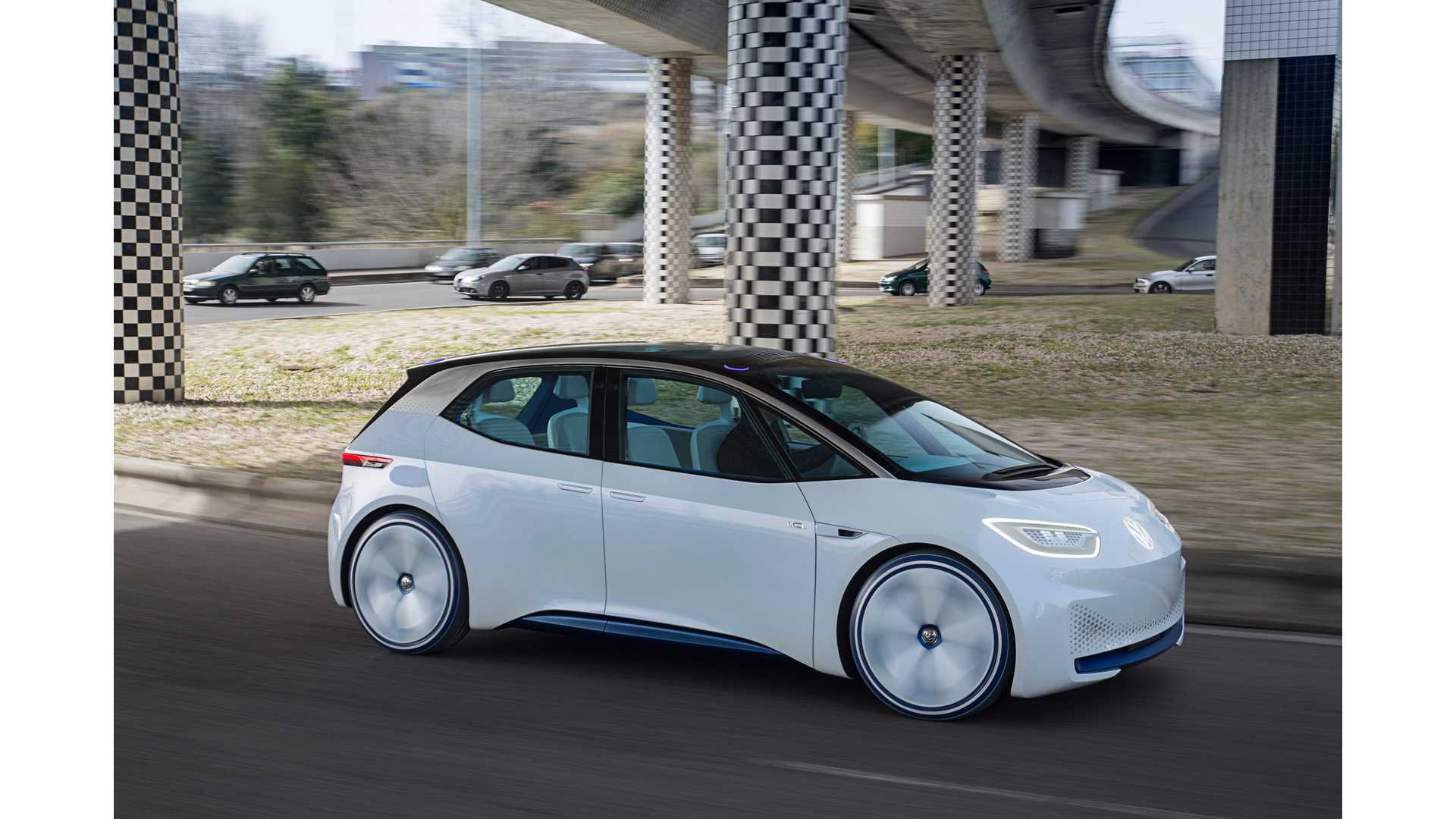 86 New Volkswagen Electric Car 2020 Model