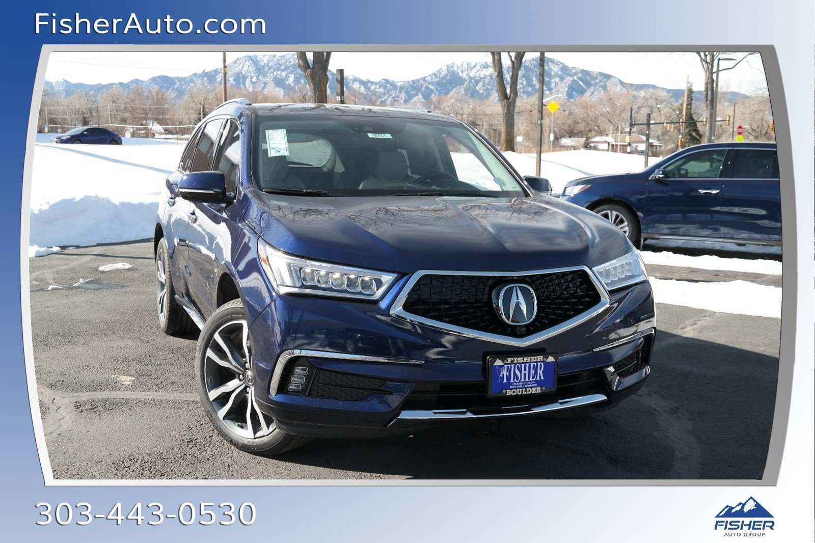 86 The 2019 Acura MDX Overview