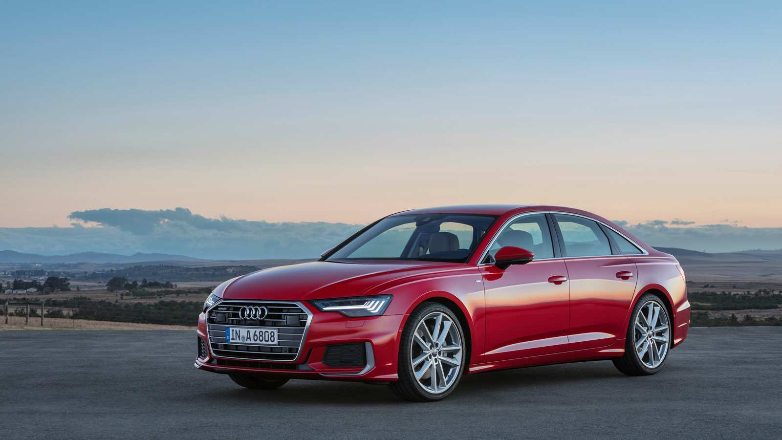 86 The 2019 Audi A6 Engine