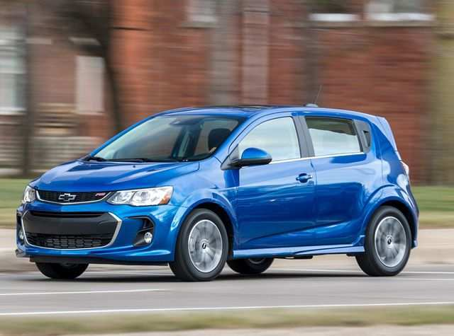 86 The 2019 Chevy Sonic Interior