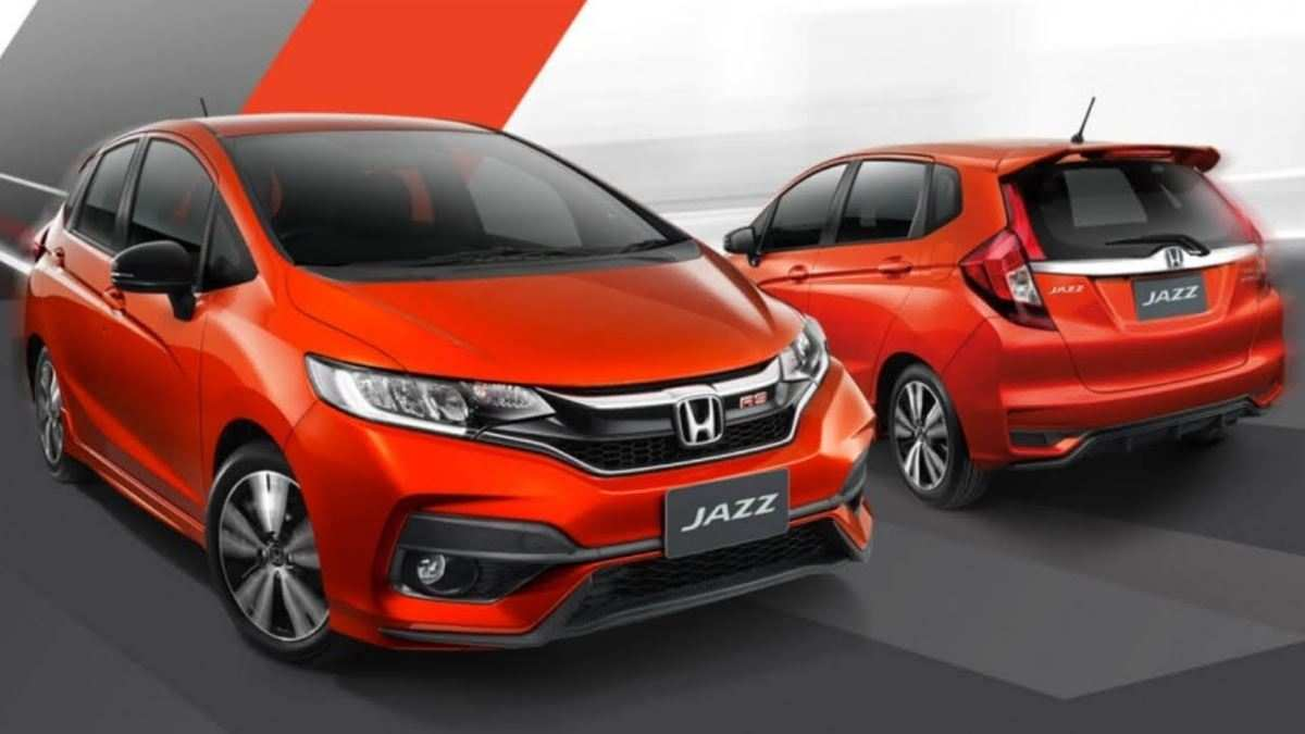86 The 2019 Honda Jazz Model