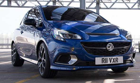 86 The 2019 Vauxhall Corsa VXR Research New