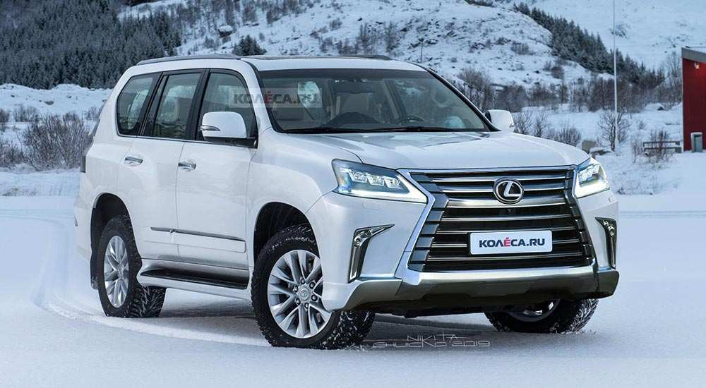 86 The 2020 Lexus GX 460 History