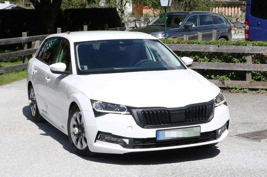 86 The Best Spy Shots Skoda Superb Price And Review