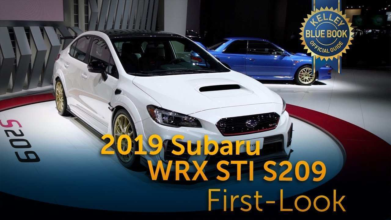 86 The Best Sti Subaru 2019 Performance And New Engine