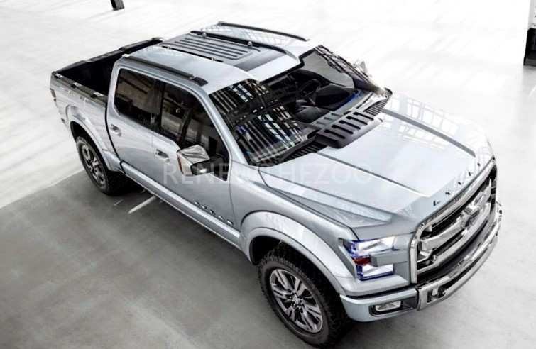 87 A 2019 Ford Atlas Engine Photos