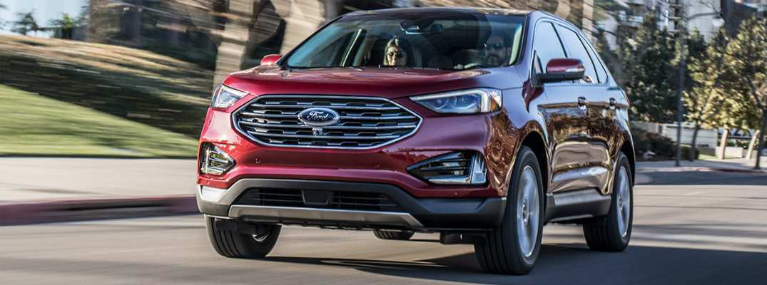 87 A 2019 Ford Edge New Design Exterior And Interior