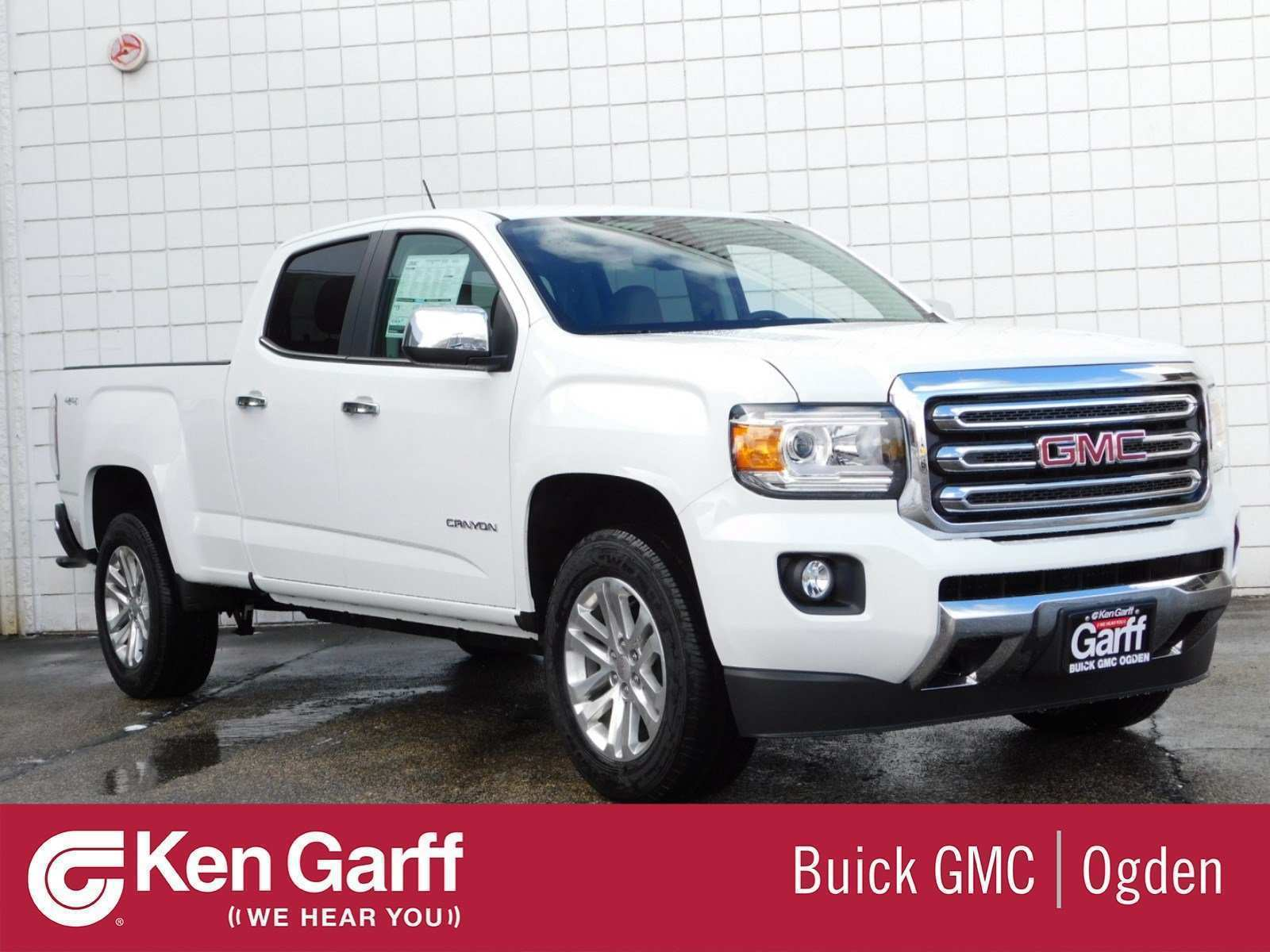 87 A 2019 GMC Canyon Release