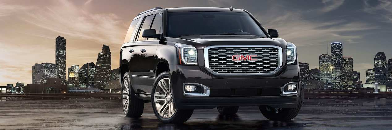 87 A 2019 GMC Yukon Denali Exterior And Interior