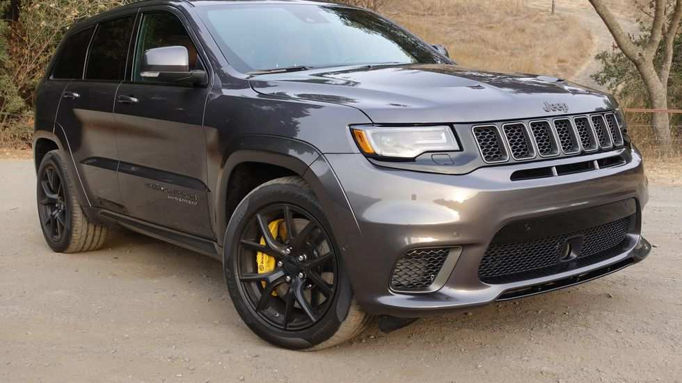 87 A 2019 Jeep Grand Cherokee Trackhawk Review And Release Date