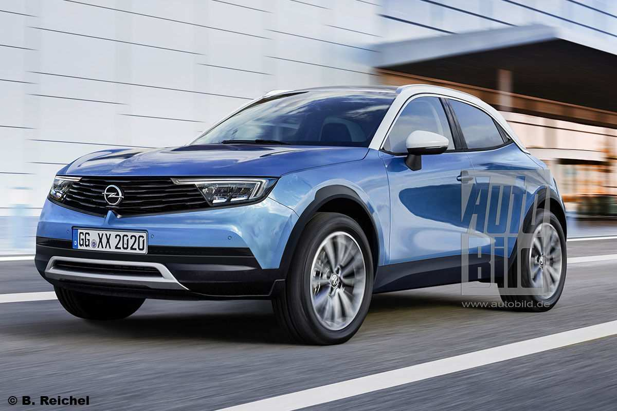 87 A Opel Grandland X Facelift 2020 Release Date And Concept