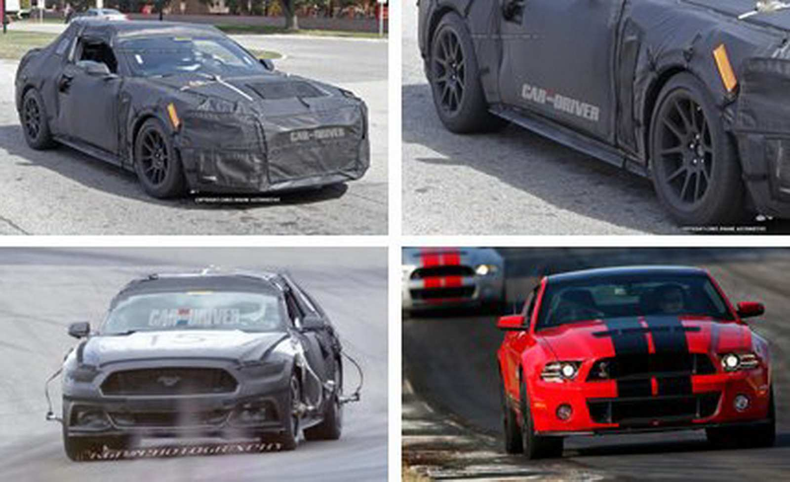 87 A Spy Shots Ford Mustang Svt Gt 500 Redesign And Review