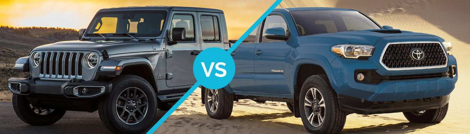 87 All New 2020 Jeep Gladiator Vs Toyota Tacoma Configurations