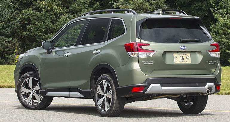 87 All New Dimensions Of 2019 Subaru Forester Redesign And Concept