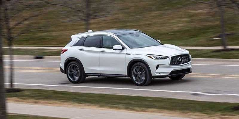 87 All New Infiniti Qx50 2020 History