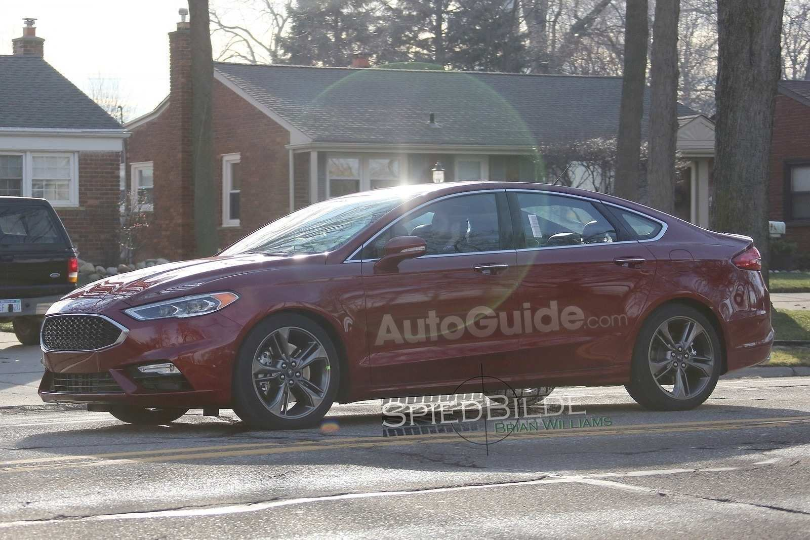 87 All New Spy Shots Ford Fusion Concept And Review