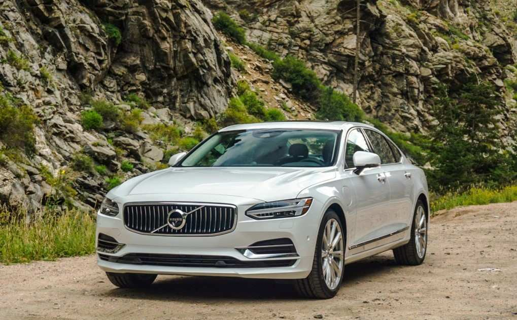 87 All New Volvo S90 2020 Facelift First Drive