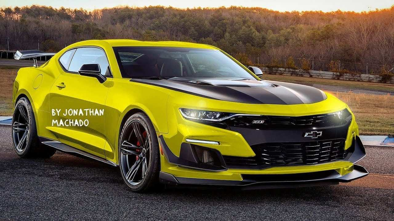 87 Best 2020 Chevy Camaro Concept