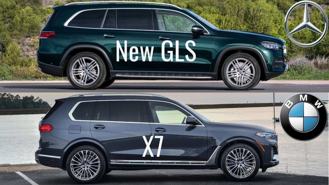 87 Best BMW X7 Vs Mercedes Gls 2020 Redesign And Concept