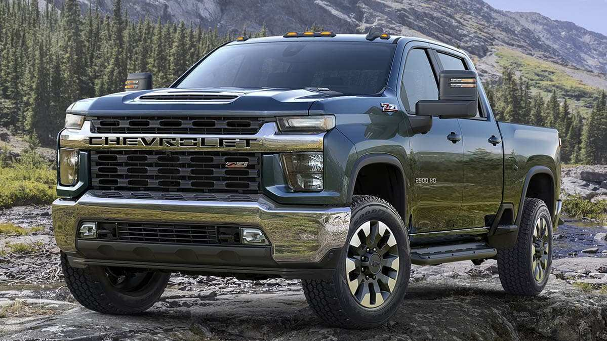 87 New 2020 Silverado Hd Wallpaper