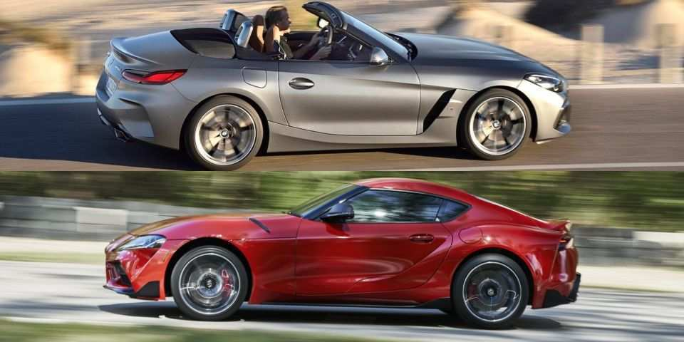87 New 2020 Toyota Supra Vs BMW Z4 Research New
