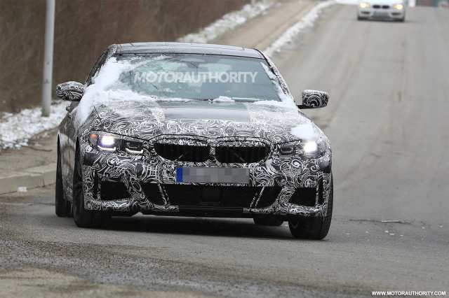 87 New Spy Shots BMW 3 Series Release