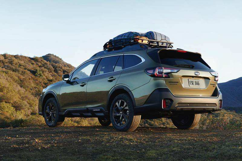 87 The 2020 Subaru Outback New Concept