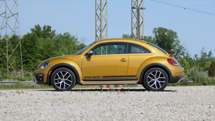87 The 2020 Volkswagen Beetle Dune Interior