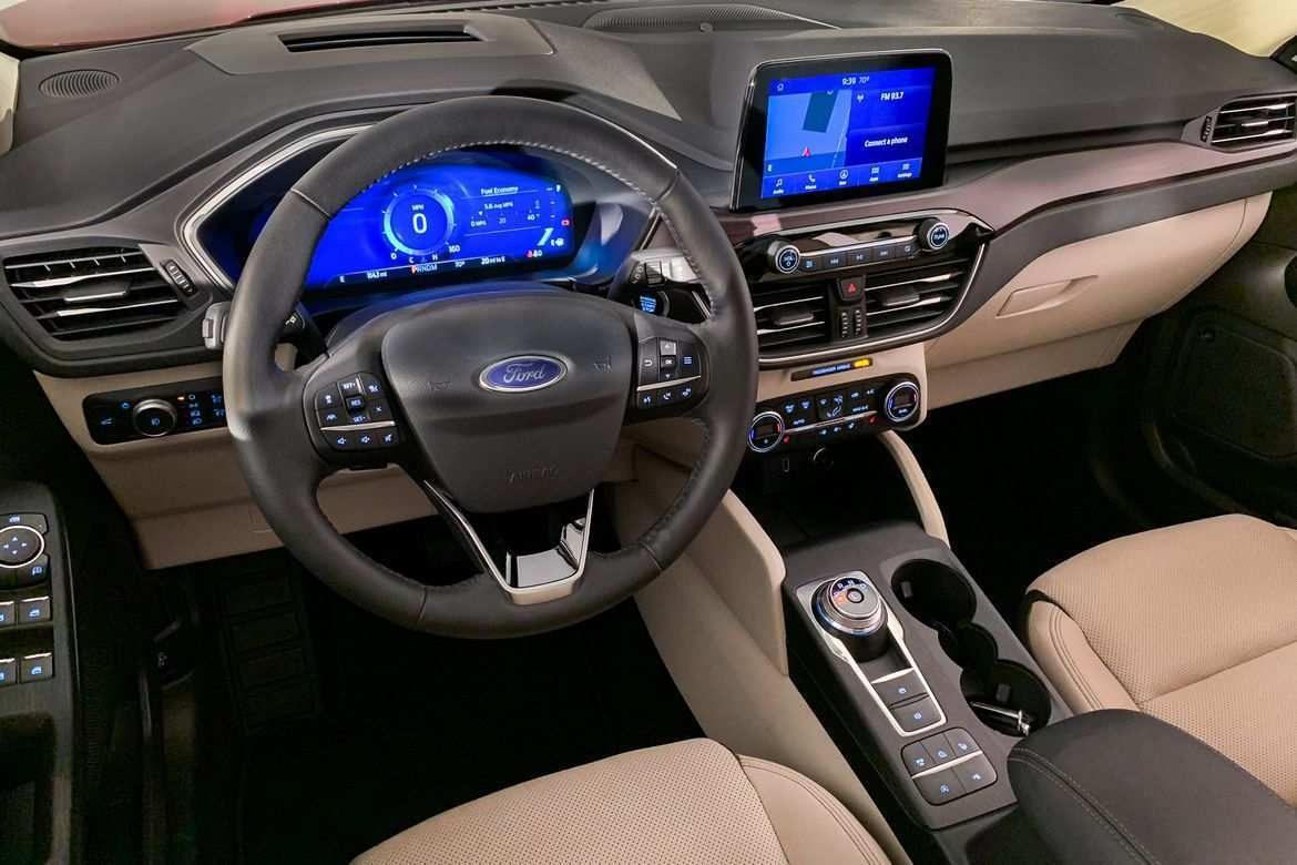 87 The Best 2020 Ford Escape Interior Concept And Review