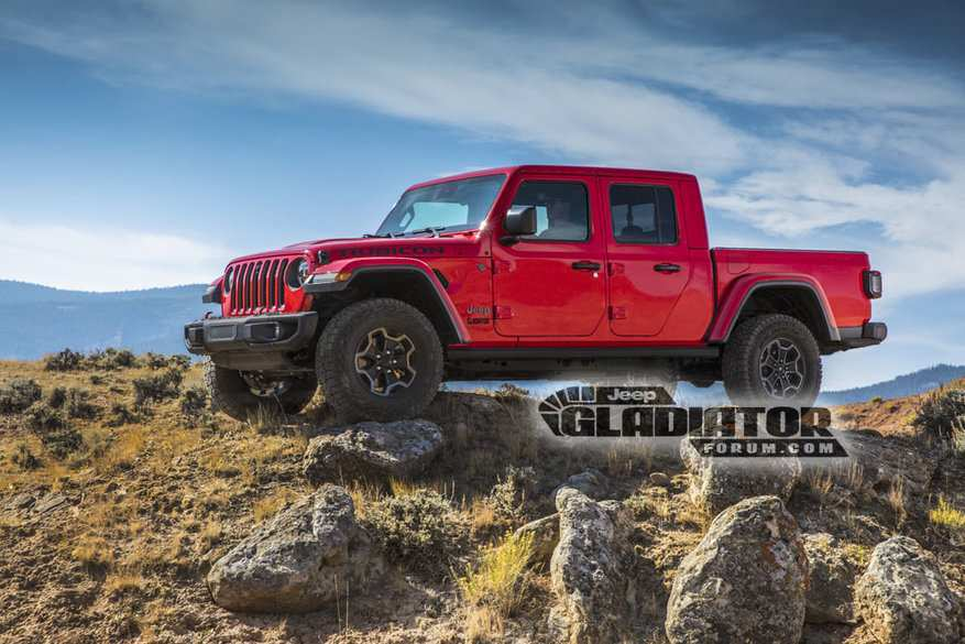 87 The Best 2020 Jeep Gladiator Lift Kit Rumors