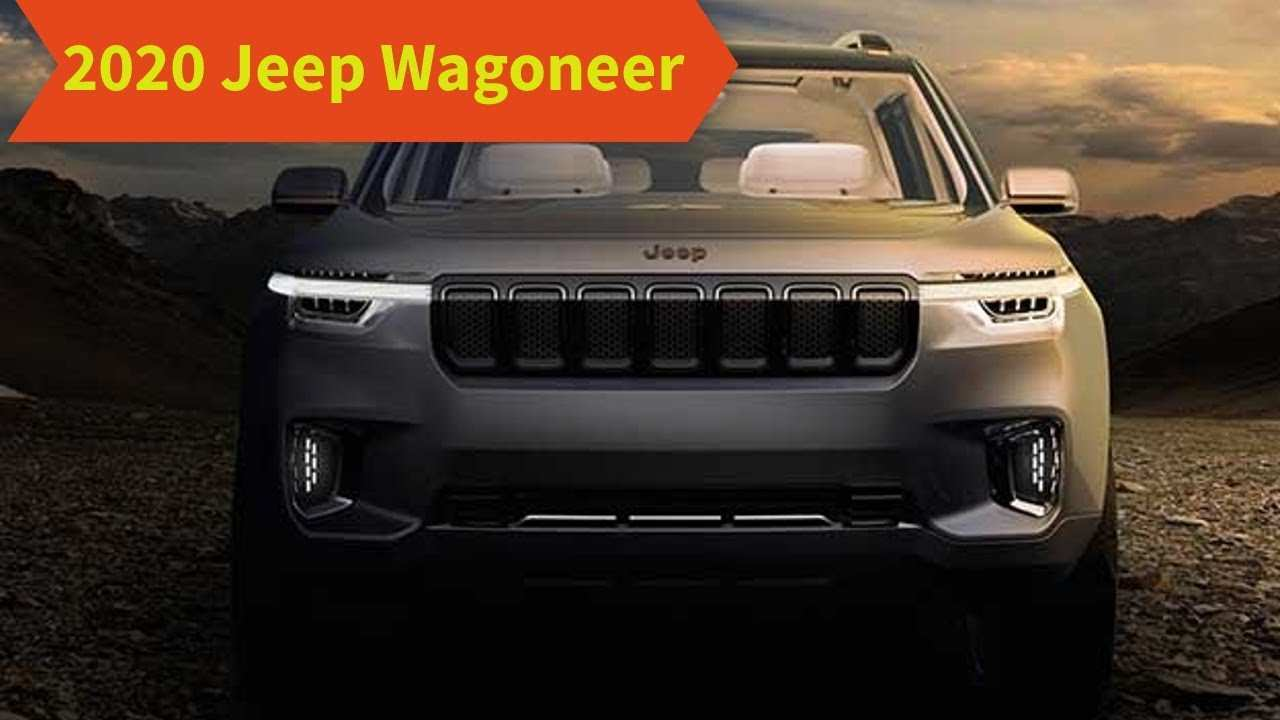 87 The Best 2020 Jeep Wagoneer Exterior And Interior