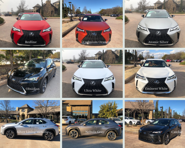 87 The Lexus 2019 Colors History
