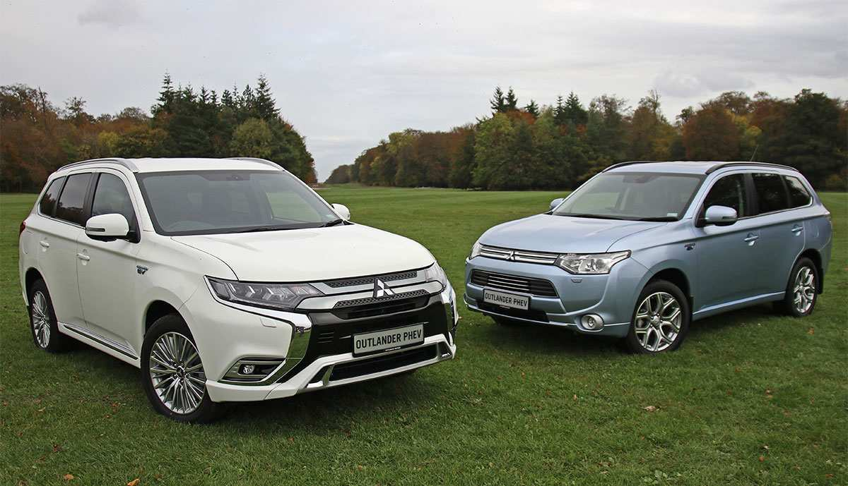 87 The Mitsubishi Outlander Plug In Hybrid 2020 First Drive