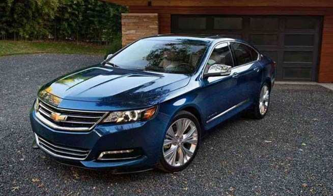 88 A 2020 Chevy Impala SS Ratings