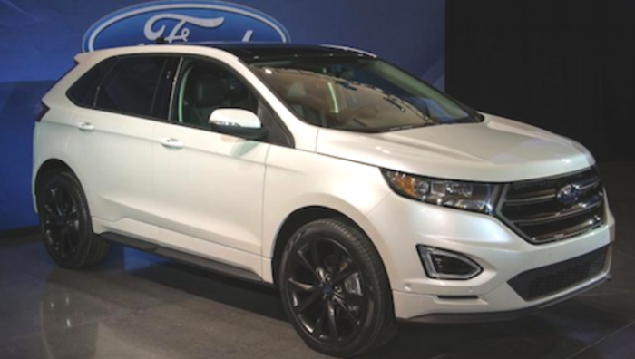 88 A 2020 Ford Edge Sport Concept