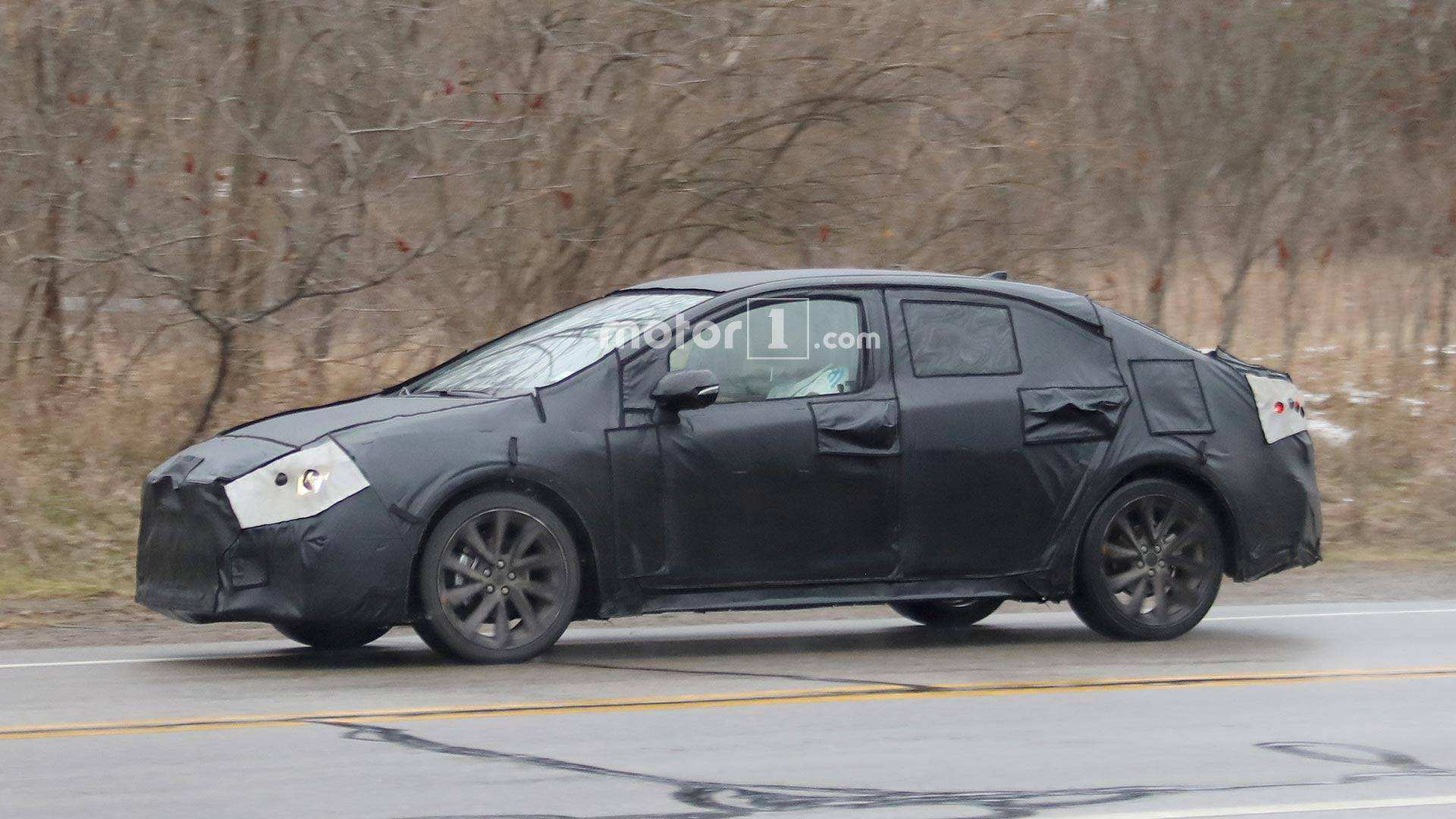 88 A 2020 Spy Shots Toyota Prius Picture