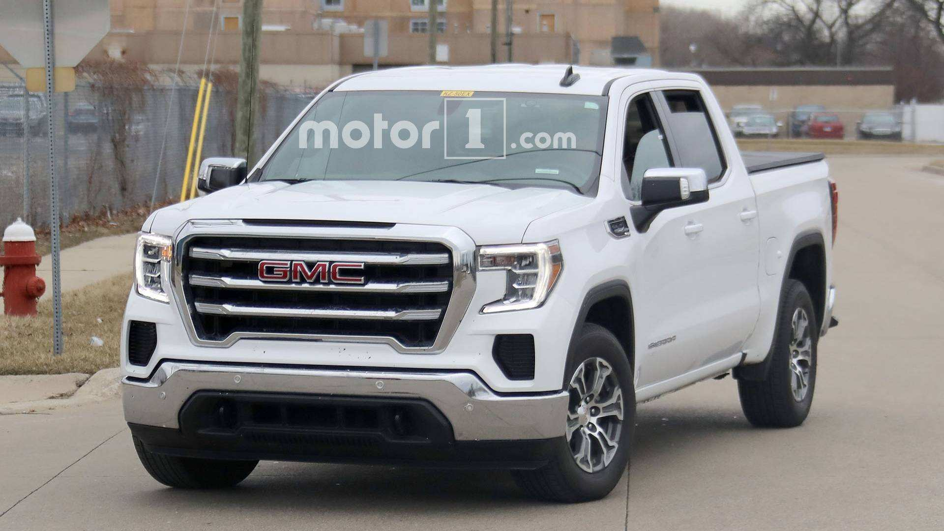 88 All New 2019 GMC Sierra Interior