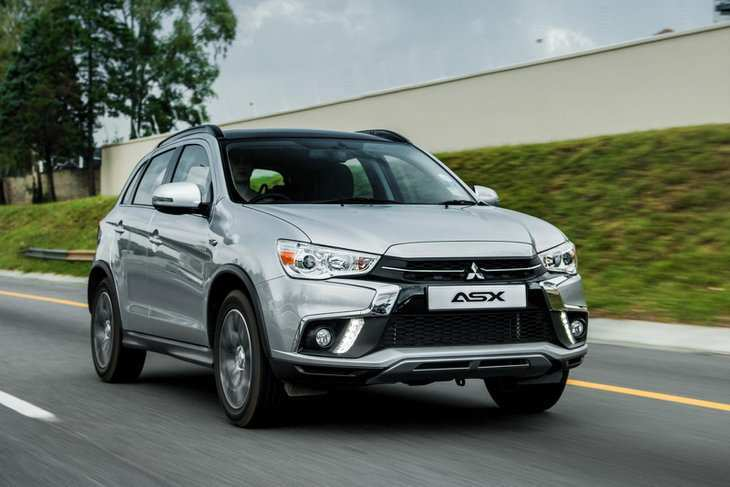88 All New 2019 Mitsubishi Asx Spy Shoot