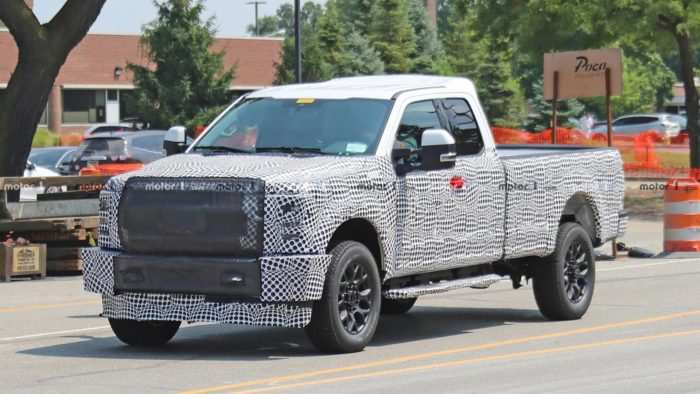 88 New 2019 Spy Shots Ford F350 Diesel Configurations
