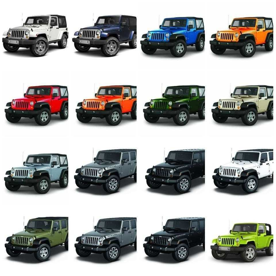88 The 2019 Jeep Jl Colors Exterior And Interior