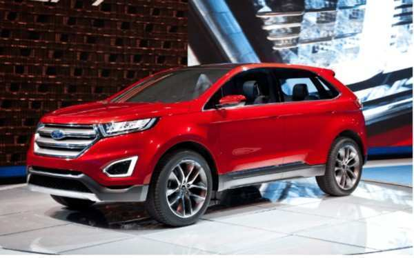 88 The 2020 Ford Edge New Design Spy Shoot