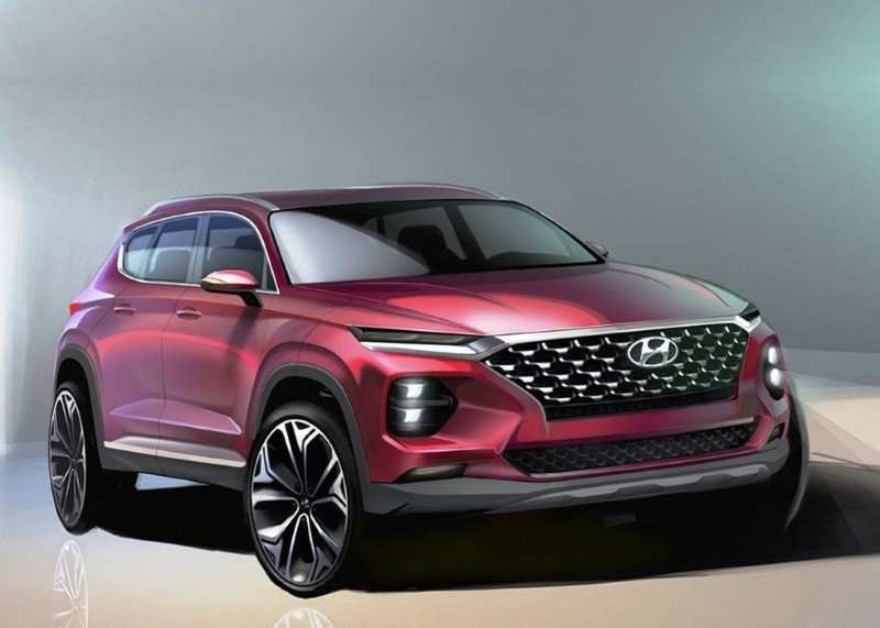 88 The 2020 Hyundai Santa Fe Sport Performance And New Engine