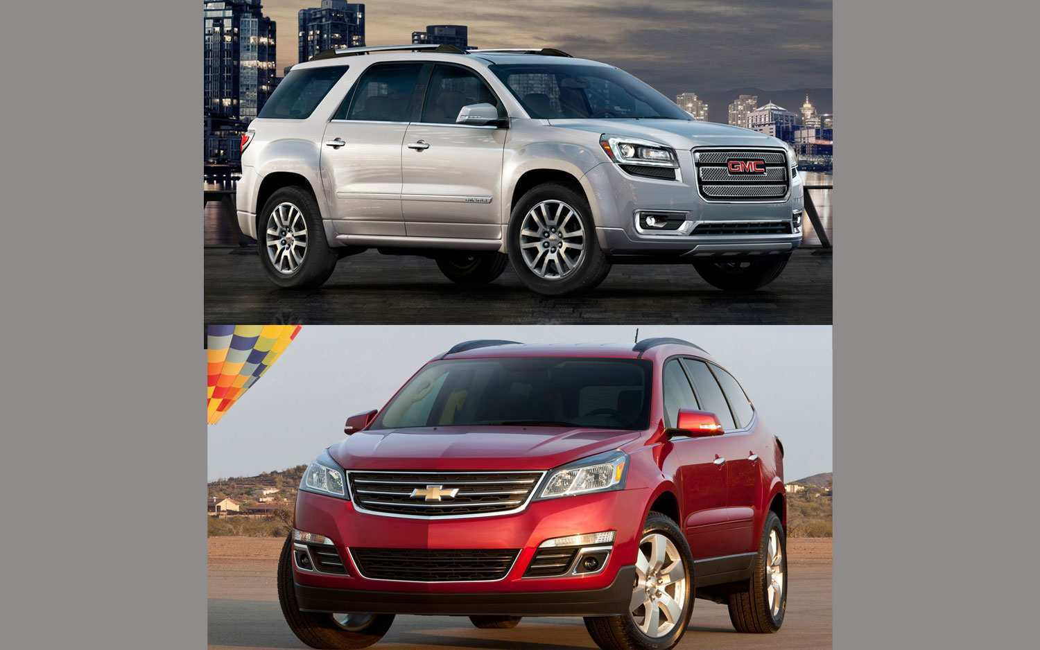 88 The Best 2020 GMC Acadia Vs Chevy Traverse Concept