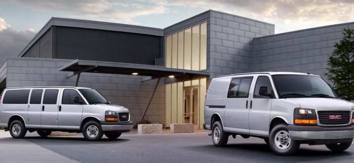 88 The Best 2020 GMC Savana Release