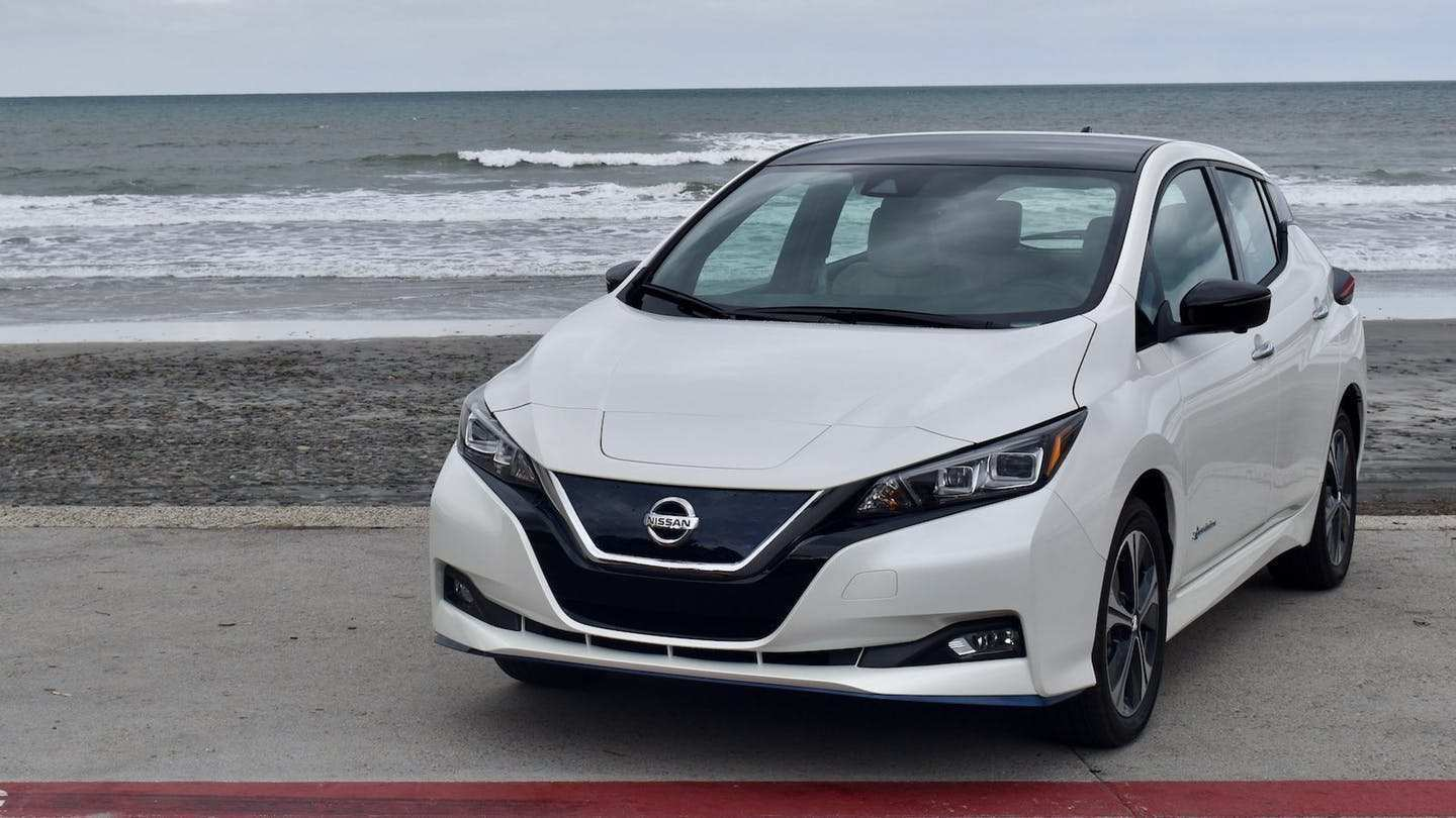 88 The Nissan Leaf 2019 Review Exterior And Interior
