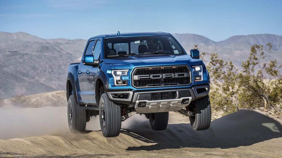 89 A 2019 All Ford F150 Raptor Spy Shoot