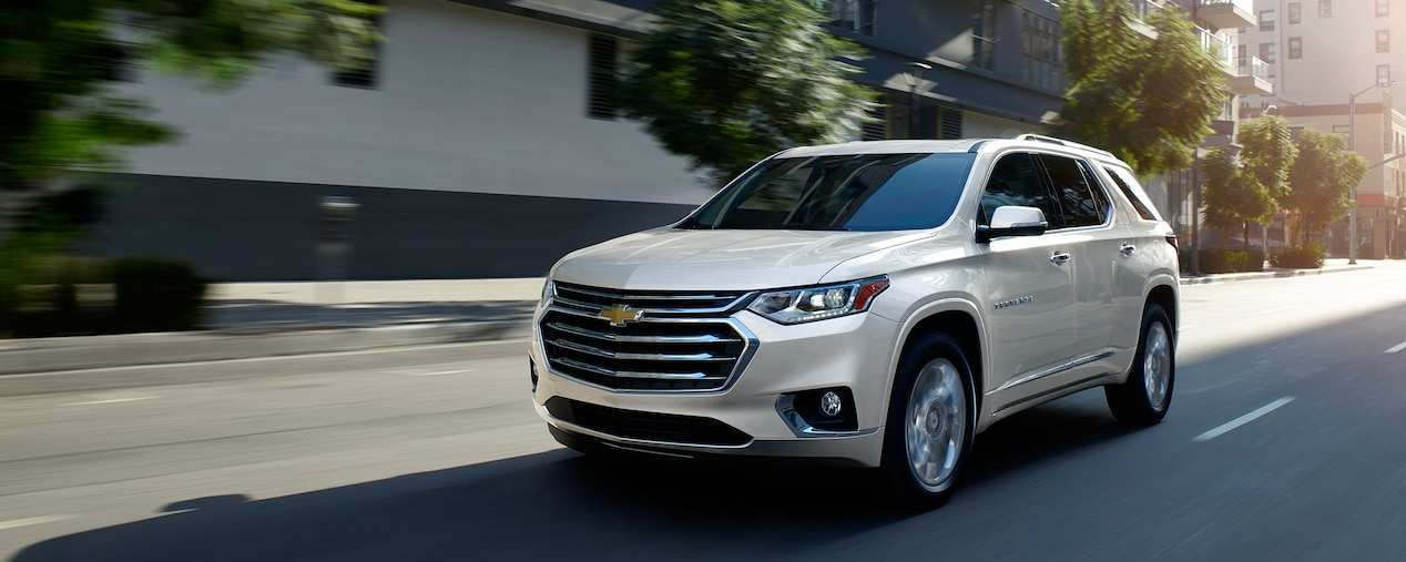 89 A 2019 Chevy Traverse Research New