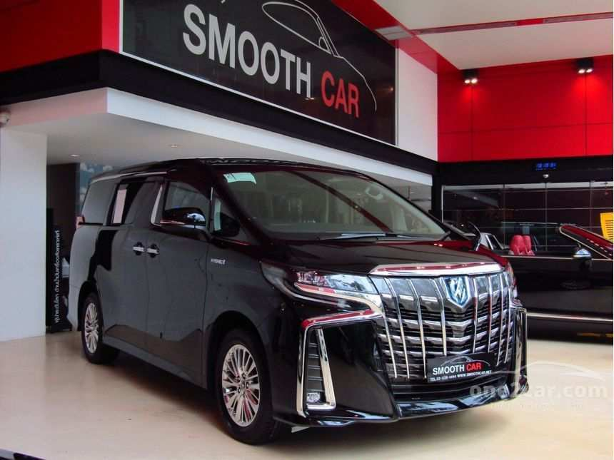 89 A 2019 Toyota Alphard Release Date And Concept