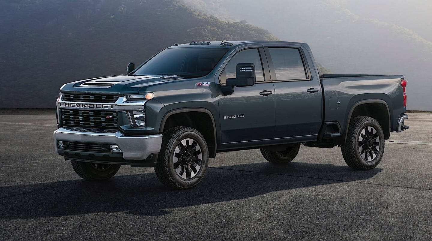 89 A 2020 Chevy 2500Hd Duramax Picture