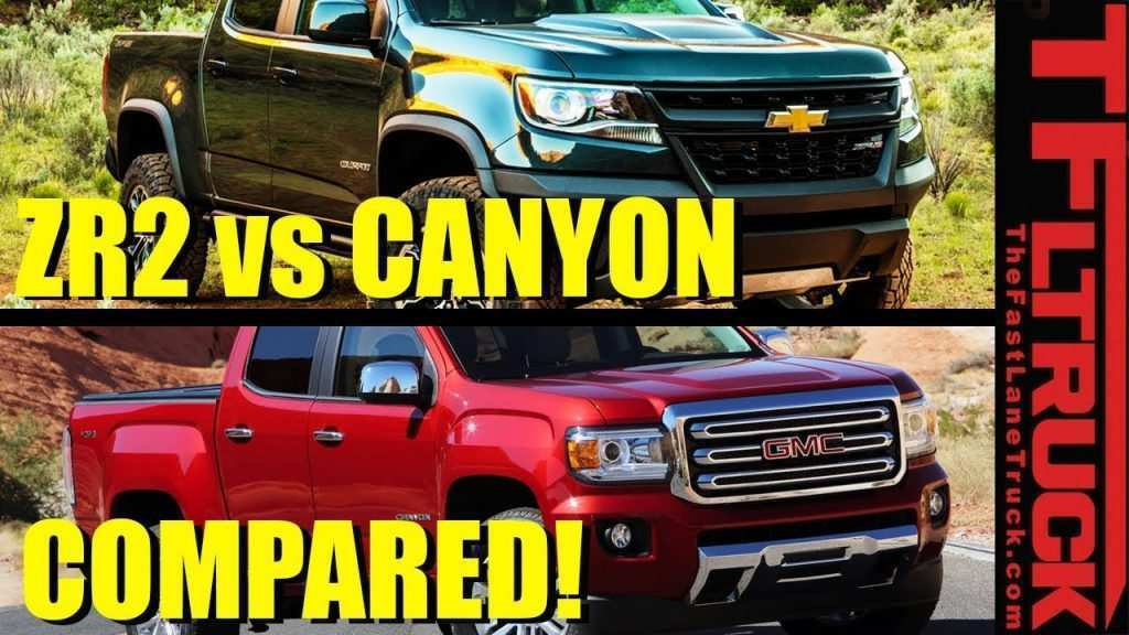 89 A 2020 GMC Canyon Zr2 First Drive